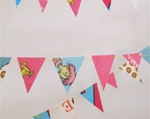 dr seuss paper party garland - ABC