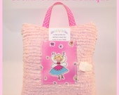 Girl Tooth Fairy Pillow Pink - Cheering Sparkling Fairy