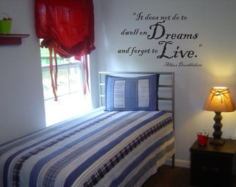 Harry Potter Wall Decal: Dumbledore Quote 000-22