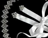 Art Deco Tiara, Crystal Bridal Headband, Geometric Headpiece, Silver Tiara, Gold Crown, DECORINA