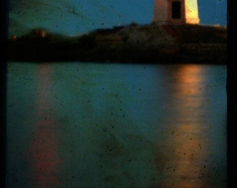 Happiness (lighthouse), Fine art photograph, print 8x8, archival paper