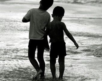 Brothers, Fine art photograph, print 8.5x11, archival paper