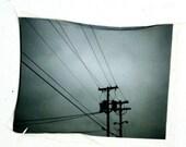 Urban No. 2 - polaroid emulsion lift original artwork