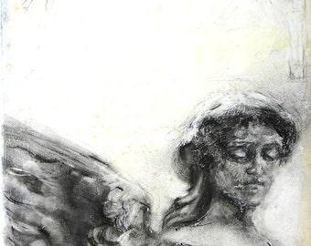 "Angel - 5""x5"" print"