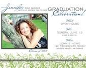 Graduation Celebration - Party Invitation. Option to Print.