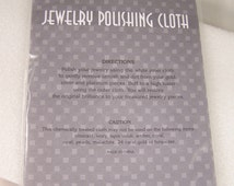 Jewelry POLISH CLOTH Metal Polishing Cloths Silver GOLD 925 Platinum
