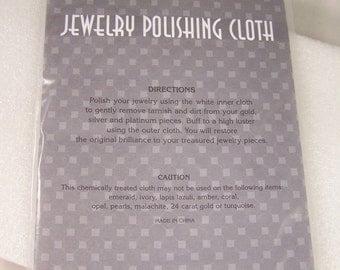 Jewelry Polish Cloth Metal Polishing Cloths Silver GOLD 925 Platinum