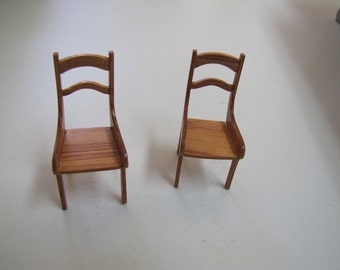 dining room chairs set of two tulipwood mini scale