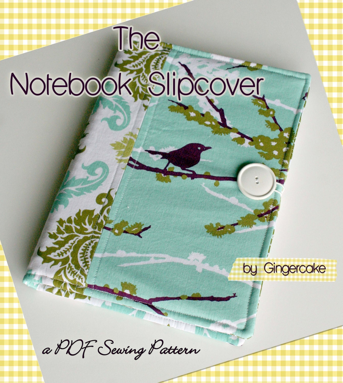 Notebook Cover Pattern ~ Notebook binder cover sewing pattern a pdf any