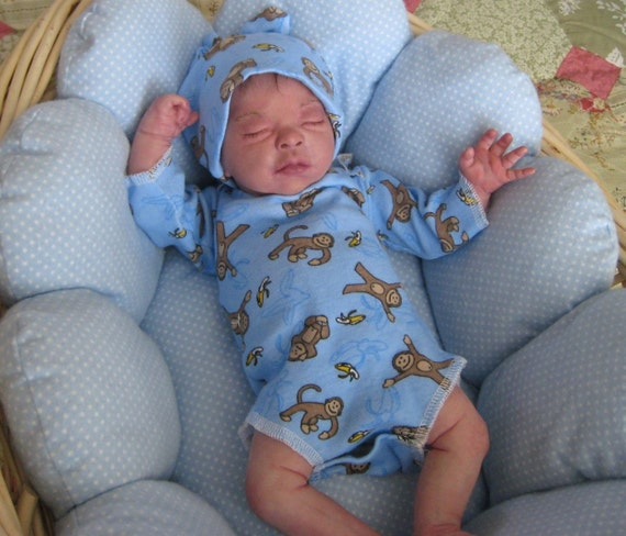 Amazingly Life Like Reborn Baby Doll Preemie Micro Rooted