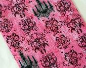 Drawstring Pink Chandelier Shoe Bag