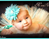 Tutti Cutie,  2pcTutu Set, 1st Photo Shoots, Shower Gift in Size Nb - 6mos
