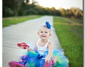 CUSTOM - Winter Berry Tutu  perfect for Birthdays and Photo Shoots in Sizes 4yrs thru 6yrs