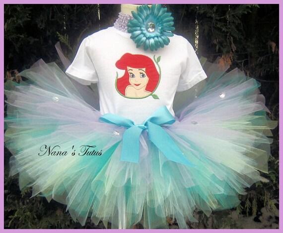 Ariel Little Mermaid, sparkle, Mermaid Princess, Ariel  Party Outfit, Theme Party, Princess Parties