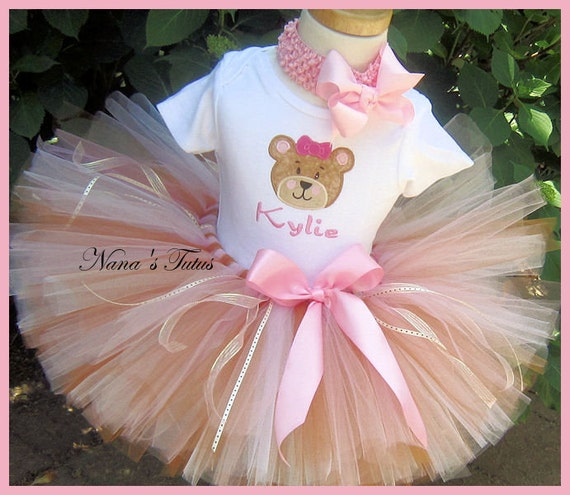 My Teddy Bear,  Party Outfit,Theme Party,Photo Shoots, Teddy Bear Birthday in Sizes up to  3yrs