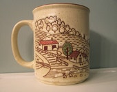 vintage woodsy coffee mug\/tea cup