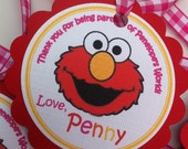 Elmo Thank You Tags/Favor Tags  Set of 30