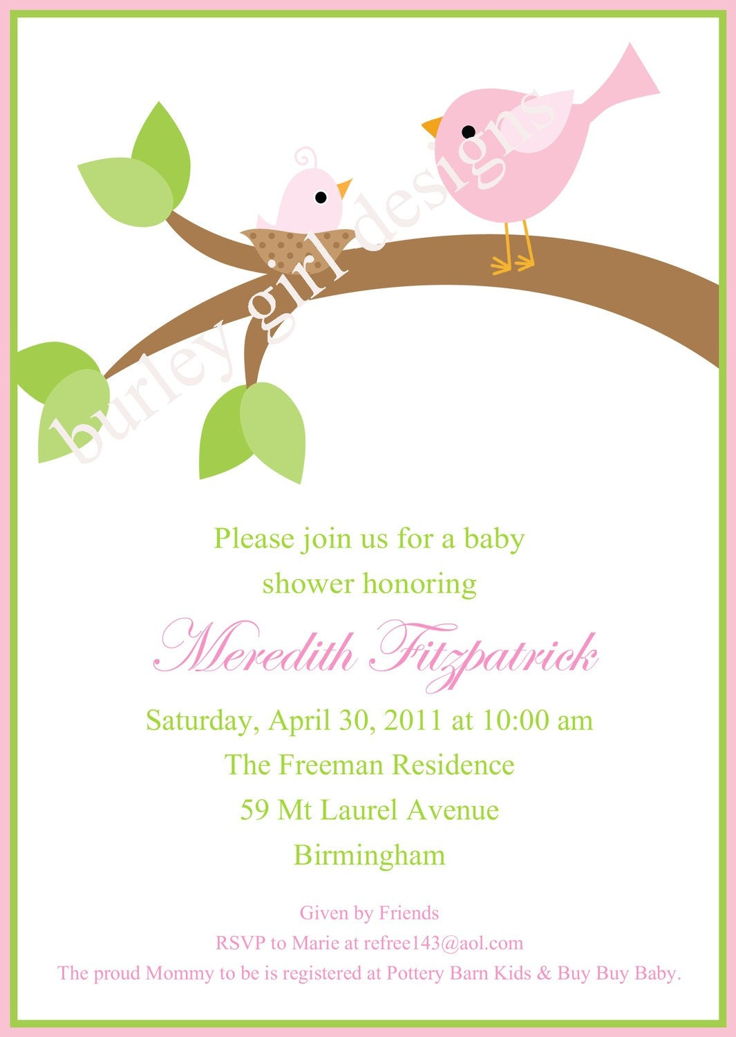 Baby Shower Wording Invitations with perfect invitations example