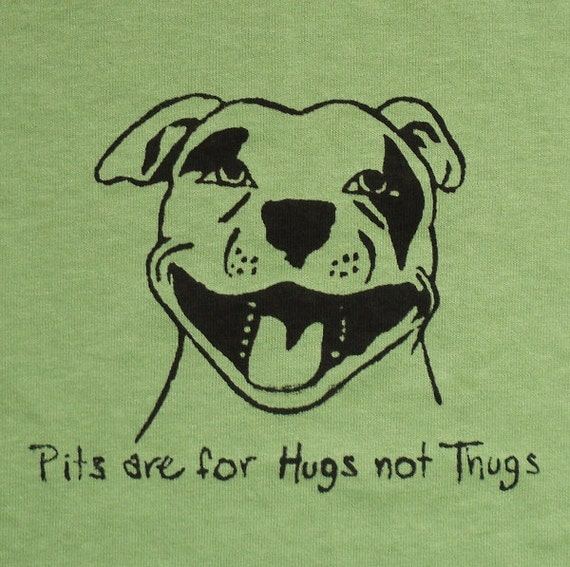 Pits are for hugs t-shirt UNISEX size SMALL- pistachio