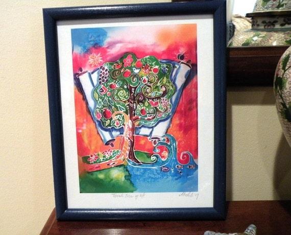 Torah Tree of Life Unframed Print