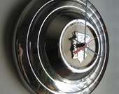1956 Mercury Hubcap Clock no.1530
