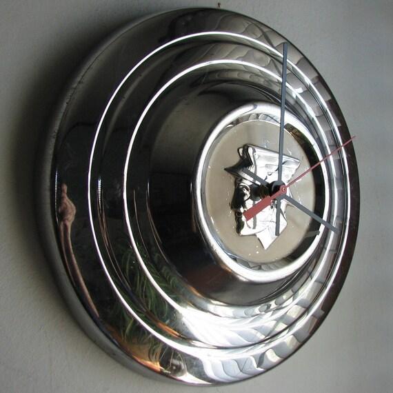 1956 Mercury Hubcap Clock no.1530