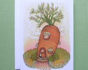 Carrot - Greeting Card