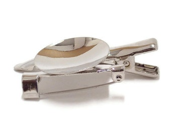 "24 Metal Brooch with Alligator Clip 3/4"" (19mm) Disk"