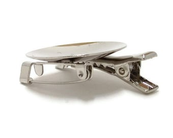 "12 Metal Brooch with Alligator Clip 1 1/8"" (28mm) Disk"
