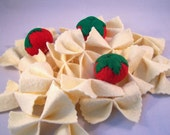 Felt Play Food - Bow Tie Pasta and Cherry Tomatoes