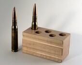 Maple .50 BMG 5-Hole Match Block