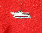 PERSONALIZED CHRISTMAS ORNAMENT - Yachting