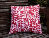 "Red Vines 16"" Decorative/Throw Pillow Cover"