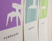2014 Printable Mid-Century Chairs Calendar