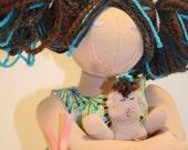 Birthing and Breastfeeding Mama Doll
