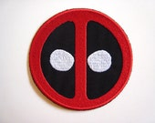 Custom Made Deadpool Like Patch