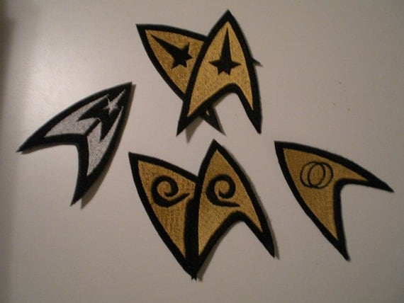 Custom Made Patches for Star Trek Costumes