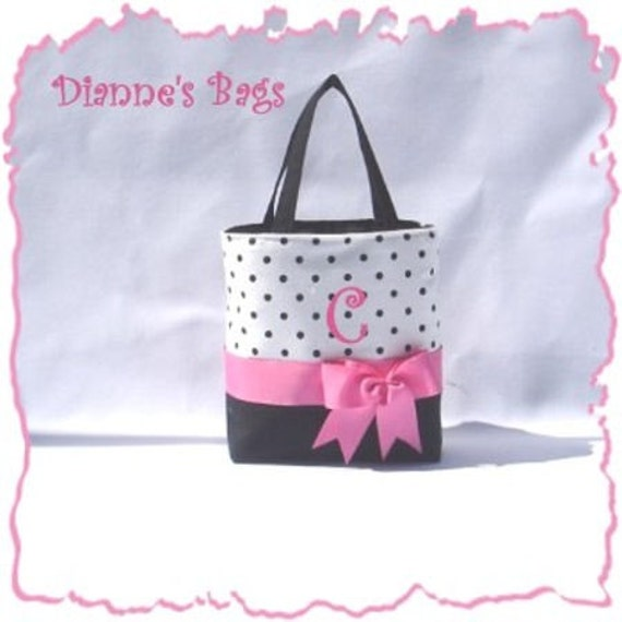 Personalized Monogrammed Tote, Purse, Handbag Bridesmaid Gift