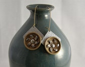 Mixed Metal Earrings by AnneMadeDesigns - Vintage Collection