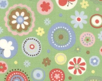 Tweet Tweet Circles Grass Green