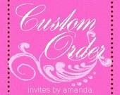 custom order for bhennings