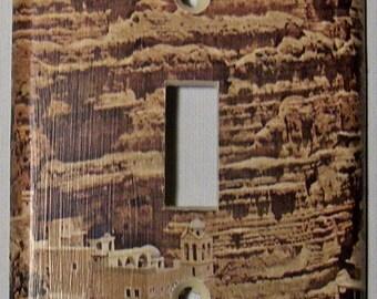 Desert Sand Castle - Single Lightswitch Cover