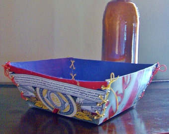 One of a Kind Budweiser Candy Dish -BLUE