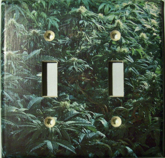 Grow Room - Double Lightswitch Cover