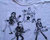 the clash Performance hanga art TEE