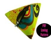 Pyramid Pouch PDF Sewing Pattern N010