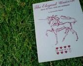 The Elegant Unicorn Charts for Cross Stitch and Neddlepoint