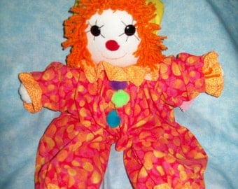 Toby the Clown Pinky Doll