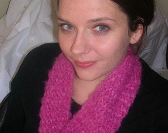 soft rasberry collar