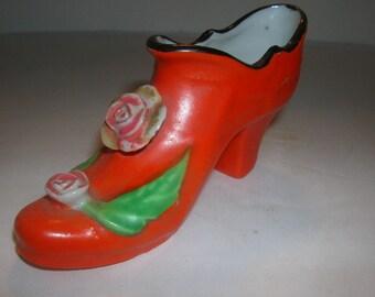 japan porcelain shoe